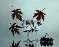 Листья осени вальса Стоковое фото RF