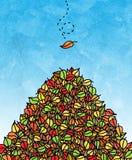листья осени бесплатная иллюстрация