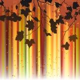 Листья, осень - предпосылка вектора иллюстрация вектора