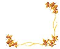 листья предпосылки осени Стоковые Изображения