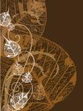 листья предпосылки Стоковое фото RF
