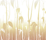 листья предпосылки иллюстрация штока