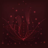 Листья предпосылки бургундские Стоковые Фото