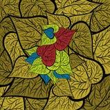 листья птицы Стоковая Фотография RF
