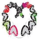 листья сердец Стоковое Изображение RF