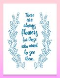 Листья цветков вектор комплекта сердец шаржа приполюсный Милое флористическое собрание, рука нарисованная акварель поздравительны Стоковые Изображения RF