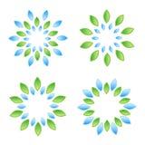 листья элементов Стоковые Фото