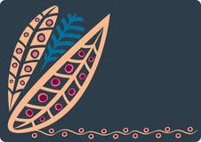листья 3 иллюстрация штока