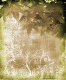 листья grunge предпосылки бесплатная иллюстрация