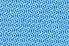Лист бинарных кодов на голубой предпосылке стоковое фото