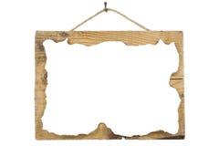 лист бумаги grunge доски деревянный Стоковое фото RF