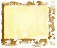 лист бумаги grunge предпосылки пустой деревянный Стоковые Фото