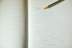 Лист выровнянной бумаги примечания Стоковое Изображение RF