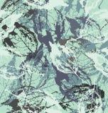 Лист в цветах Стоковое Фото