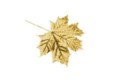 Лист золота Стоковые Изображения RF