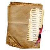 лист красного цвета усадьбы конструкции смычка Стоковое Изображение