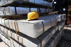 Лист металла в пакете Стоковое Изображение RF