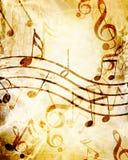 Лист музыки Стоковая Фотография