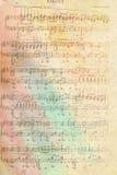 Лист музыки Стоковое Фото