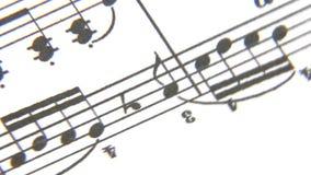 Лист музыки акции видеоматериалы