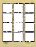 лист напечатанный контактом Стоковое Фото