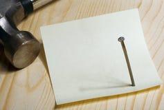 лист ногтя Стоковые Изображения RF