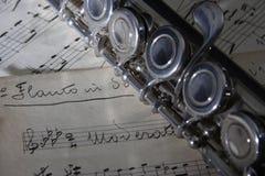 лист нот каннелюры старый Стоковое Изображение RF