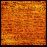 лист нот grunge предпосылки Стоковое Фото
