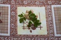 Лист петрушки Стоковые Изображения RF