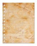 лист пустой бумаги иллюстрация штока