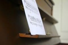 лист рояля Стоковое фото RF