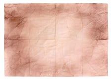 Лист старой бумаги стоковые изображения rf