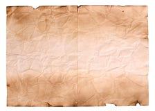 Лист старой бумаги стоковое изображение rf