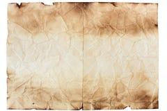 Лист старой бумаги стоковые фото
