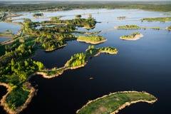 Литва от выше Стоковые Фото