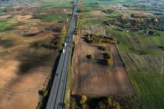 Литва от выше Стоковое Фото