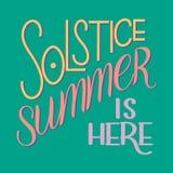 Литерность летнего солнцестояния Стоковое фото RF