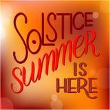 Литерность летнего солнцестояния Стоковые Изображения