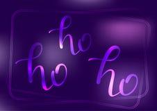 Литерность неона Ho Стоковое фото RF