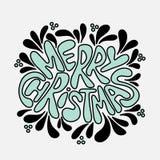 Литерность рождества и Нового Года   стоковые фото