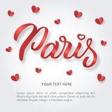 Литерность руки Парижа Стоковое Фото