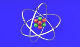 Литий молекулярной структуры Стоковое Фото