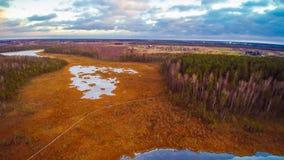 Литовские озера стоковое изображение rf