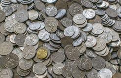 Литовские центы litas Стоковая Фотография RF