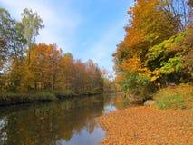 Литовский ландшафт Стоковые Фото
