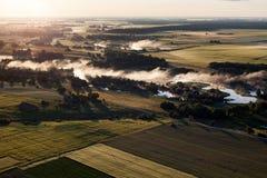 Литовский ландшафт Стоковое Изображение RF