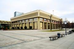 Литовский парламент (Seimas) в Вильнюсе 13-ого марта стоковое фото