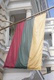 Литовский флаг Стоковая Фотография RF