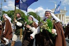 Литовское торжество песни стоковая фотография