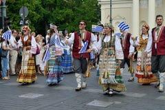Литовское торжество песни стоковые изображения rf
